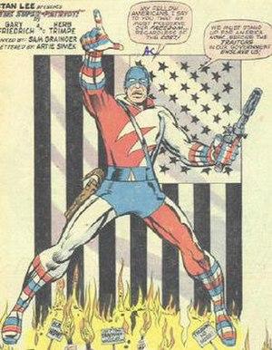 Super-Patriot (Marvel Comics) - Image: Super Patriot