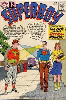 Il primo incontro fra Superboy e Ultra Boy