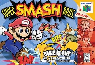 Super Smash Bros. (video game) - North American box art