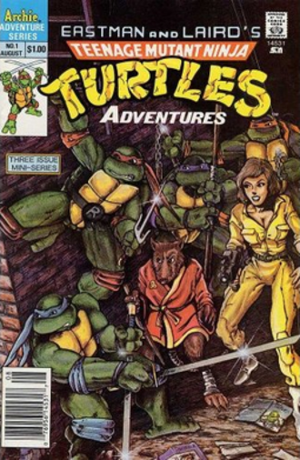 Teenage Mutant Ninja Turtles Adventures - First issue