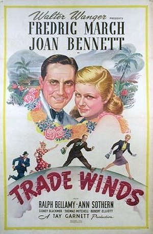 Trade Winds (film) - Theatrical poster