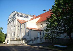 Telšiai Bishop Vincentas Borisevičius Priest Seminary - Seminary premises in Telšiai