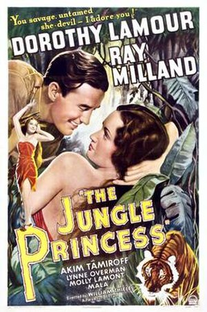 The Jungle Princess - Film poster