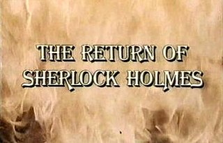 <i>The Return of Sherlock Holmes</i> (1987 film) 1987 film directed by Kevin Connor