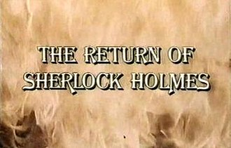 The Return of Sherlock Holmes (1987 film) - Image: The Return of Sherlock Holmes