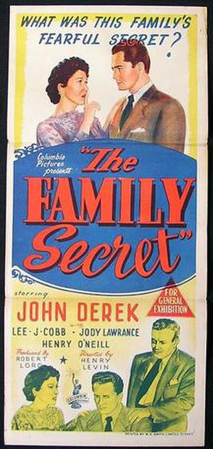 The Family Secret (1951 film) - Theatrical release poster