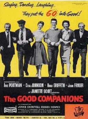 The Good Companions (1957 film) - Image: The Good Companions Film Poster