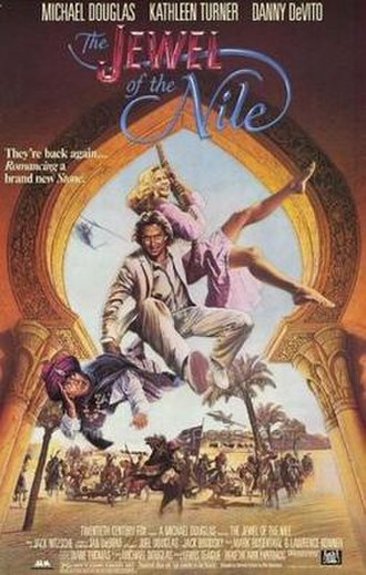 The Jewel of the Nile - Promotional film poster