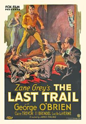 The Last Trail - Theatrical release poster