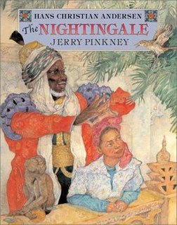 <i>The Nightingale</i> (Pinkney book) book by Hans Christian Andersen