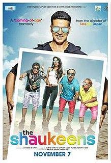 <i>The Shaukeens</i> 2014 film by Abhishek Sharma