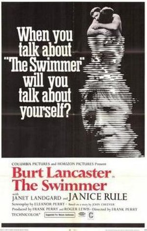 The Swimmer (1968 film) - Theatrical poster