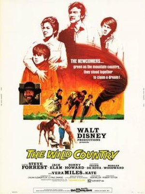 The Wild Country - Theatrical release poster