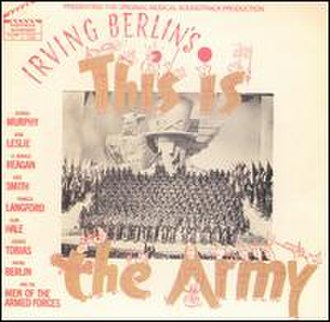 This Is the Army - Movie Soundtrack album (1970's bootleg issue)