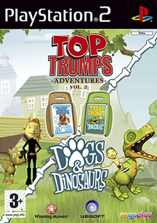 <i>Top Trumps Adventures: Dogs and Dinosaurs</i> 2007 video game