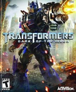 <i>Transformers: Dark of the Moon</i> (video game) 2011 video game
