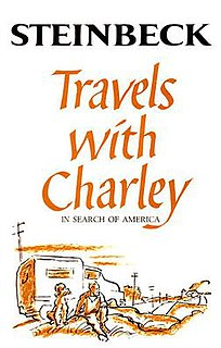 <i>Travels with Charley</i> travelogue by John Steinbeck