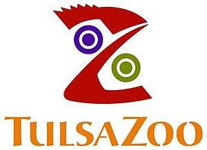 Tulsa Zoo - Image: Tulsa Zoo Logo