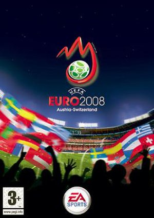UEFA Euro 2008 (video game) - Image: UEFA EURO 2008 Cover