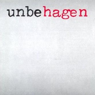Unbehagen - Image: Unbehagen