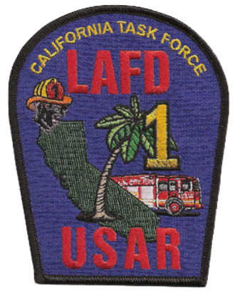 Urban Search and Rescue California Task Force 1 - CA-TF1 Patch