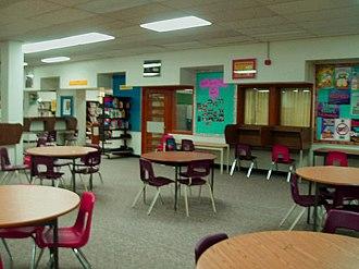 Victoria Park Collegiate Institute - Victoria Park Collegiate Institute's library