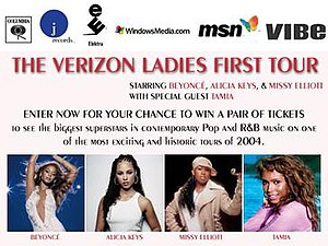 Verizon Ladies First Tour - Image: Vlft 04