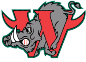 Winston-Salem Dash - The logo of the Winston-Salem Warthogs, used from 1995 to 2008