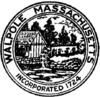 Official seal of Walpole, Massachusetts