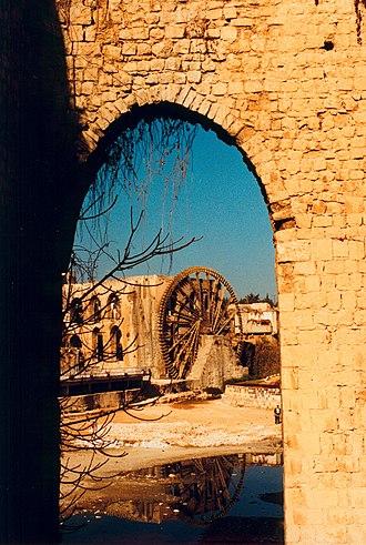 Norias of Hama - Image: Water Wheel of Hama