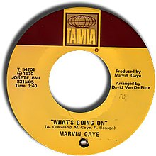 What S Going On Marvin Gaye Song Wikipedia