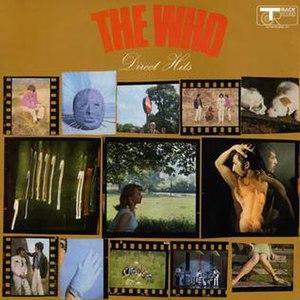 Direct Hits (The Who album) - Image: Whodirecthits