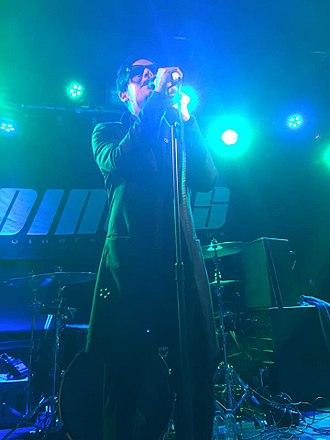 Wil Francis - Onstage in Southamptom, September 2016