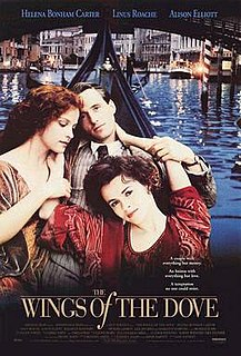 <i>The Wings of the Dove</i> (1997 film) 1997 film based on the novel by Henry James, directed by Iain Softley