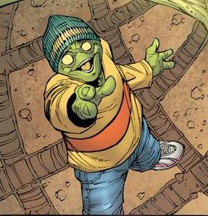 Leech (comics) - Art by Jim Muniz