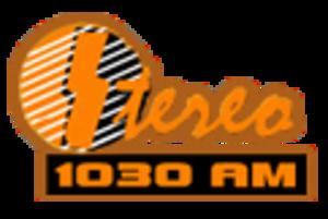 XHIE-FM - Image: XHIE XEIE stereo 1030 logo