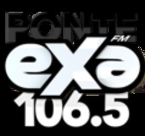 XHOX-FM (Sonora) - Image: XHOX Exa FM106.5 logo