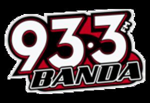 XHQQ-FM - Image: XHQQ Banda 93.3 logo