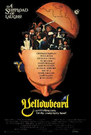 Yellowbeard - Theatrical release poster