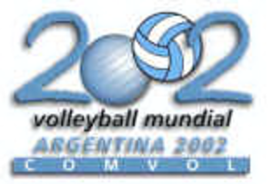 2002 FIVB Volleyball Men's World Championship - Image: 2002 FIVB Men's World Championship logo