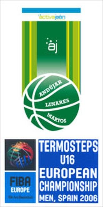 2006 FIBA Europe Under-16 Championship - Image: 2006 FIBA Europe Under 16 Championship logo