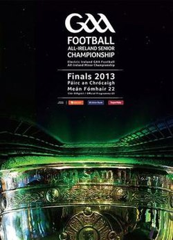 2013 All-Ireland Senior Football Championship Final programme.jpg