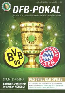 2014 DFB-Pokal Final association football match