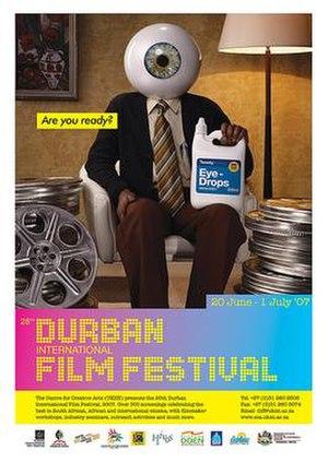 2007 Adelaide Film Festival - Image: 28th Durban International Film Festival poster