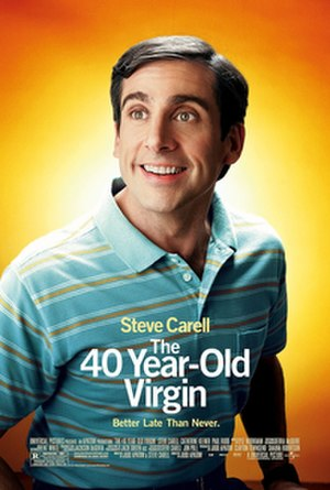The 40-Year-Old Virgin - Theatrical release poster