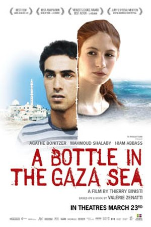 A Bottle in the Gaza Sea - Film poster