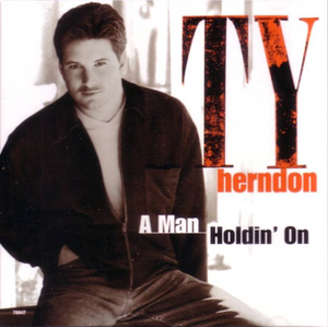 A Man Holdin' On (To a Woman Lettin' Go) - Image: A Man Holdin On cover