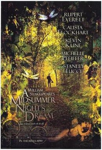 A Midsummer Night's Dream (1999 film) - Theatrical release poster