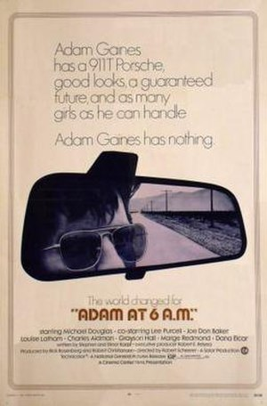 Adam at 6 A.M. - original film poster