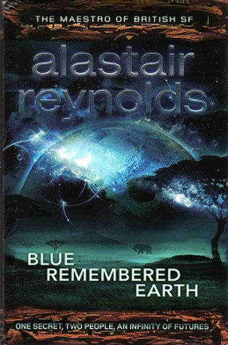 Blue Remembered Earth - Paperback edition